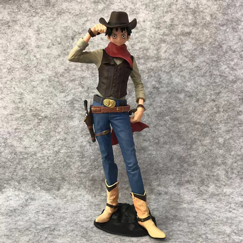 Toys & Hobbies Search For Flights Anime 1/8th Scale One Piece Treasure Cruise World Journey Vol.1 Cowboy Monkey D Luffy Action Pvc Figure Toy Brinquedos 20.5cm