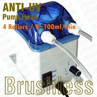 9~100ml/min, 230V Peristaltic Pump, Reversible Brushless Motor, Exchangeable Pump Head & FDA approved PharMed Peristaltic Tube
