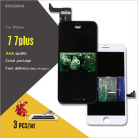 Ovsnovo 3PCS All Check Test Work Perfect LCD Ecran For IPhone 7 7plus LCD Display Touch