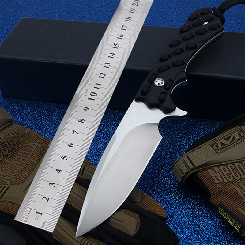 2020 New Free Shipping Outdoor Tactical <font><b>Knife</b></font> Self-defense <font><b>Wilderness</b></font> Survival Camping High Hardness Hunting <font><b>Knives</b></font> EDC Tools image