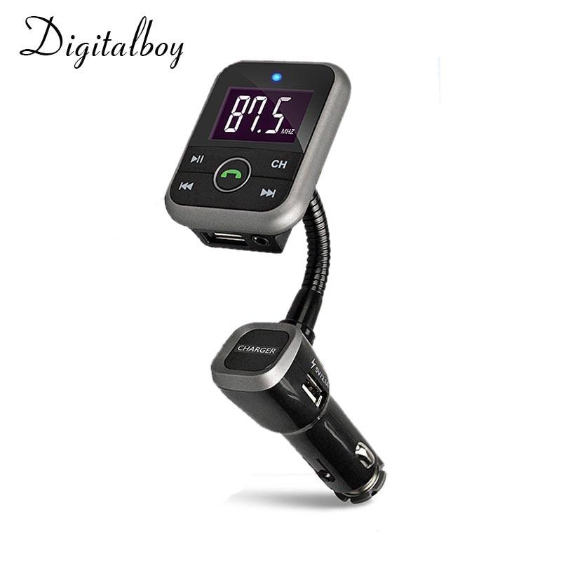 Prix pour Digitalboy Bluetooth Kit De Voiture Transmetteur FM Avec USB Chargeur De Voiture MP3 Player Support USB SD TF Carte Sans Fil Mains Libres