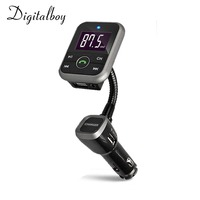 Digitalboy Bluetooth Kit Car FM Transmitter With USB Charger Car MP3 Player Support USB SD TF