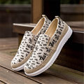 NEW Fashion summer Men's Breathable Recreational Shoes Casual shoes quality slip-on Canvas flats shoes wear rubber sole oxfords