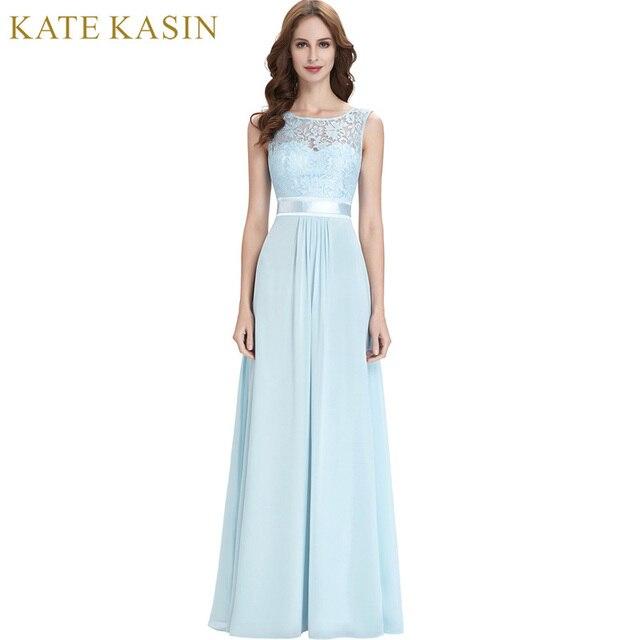2018 neue Marken Damen Abendkleider Lange Designer Abendkleider Blau ...