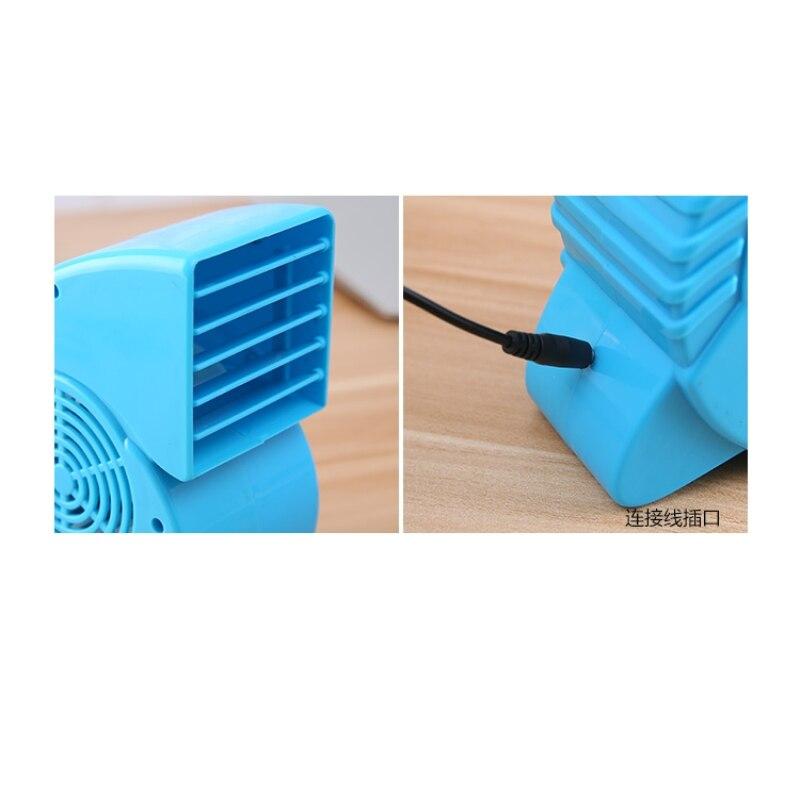 Portable Mini ABS Ventilator Cooling Desktop PC Dual Bladeless Air - Huishoudapparaten - Foto 5