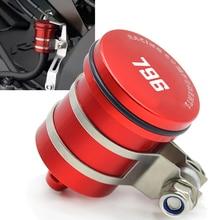 цена на CNC Motorcycle Rear Brake Fluid Reservoir Clutch Tank Oil Cup for ducati HYPERMOTARD 796 MONSTER 796 2010 2011 2012 2013 2014