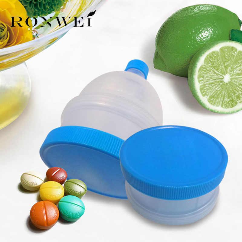 2 ชั้นโปรตีนผงช่องทางแบบพกพาช่องทาง GYM Partner สำหรับขวดน้ำและโปรตีนปั่นขวด BPA ฟรี