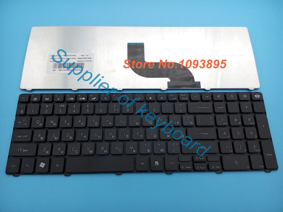 Новая русская клавиатура для ноутбука Packard bell EasyNote TK11BZ TK13BZ TK36 TK37 TK81 TK83 TK85 TK87 RU Клавиатура для ноутбука MP-09323SU-6983