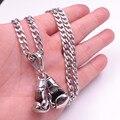 Выбрать из нержавеющей стали, два Фитнес Боксерские перчатки ожерелье с нк чиан или цепи коробки 24''silver