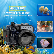 цены Waterproof Case for Sony RX100 V Camera Photography Underwater 60m Protective Housing Diving Equipment Camera Accessory Box