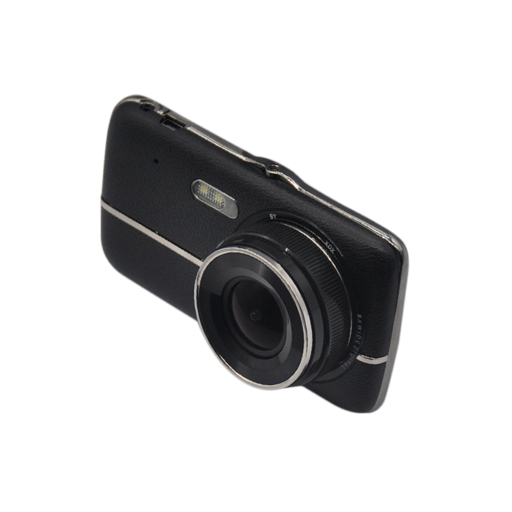 Full HD 1080P 4 Inch Portable Mini Dual Car DVR Vehicle Blackbox Dash Cam Night Vision Car Camera H.264 Gravity Sensor Detector