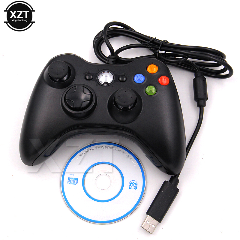1pcs Remote Controller for PC Game Controller pad USB Wired Joypad Gamepad For for Windows 7 / 8 / 10 Joystick Controle hot sale(China)