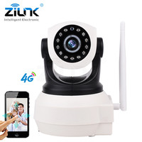 ZILNK 3G 4G Sim Card Camera 720P HD P2P Network Wireless Wifi IP Camera Home Security Remote Control Motion Detection Alarm