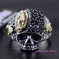 Good Vibrations кольцо с черепом