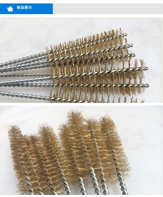 Rotary Wire Brush | Fixmee 10 Pcs Brass And Stainless Steel Rotary Wire Brush For Pipes