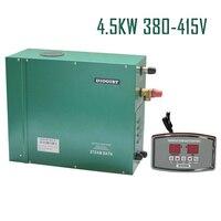 Бесплатная доставка 4.5kw380 413 В 50/60 Гц 3 фазы энергии разговора сауна парогенератор первые продукты стороны ce сертифицированный