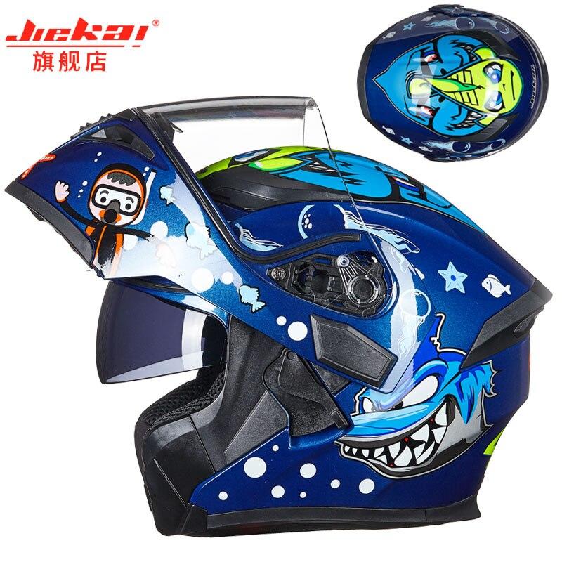 Motorcycle Helmet Male Female Four Seasons Capacete para motocicleta cascos para moto Flip Up Double Lens