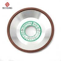 """5 """"pollici Resina Scintillante Diamante Grinding Wheel Cup bowl forma 150 Grit 75% per il Carburo di Accessori Per Elettroutensili 125x32x5x3mm"""