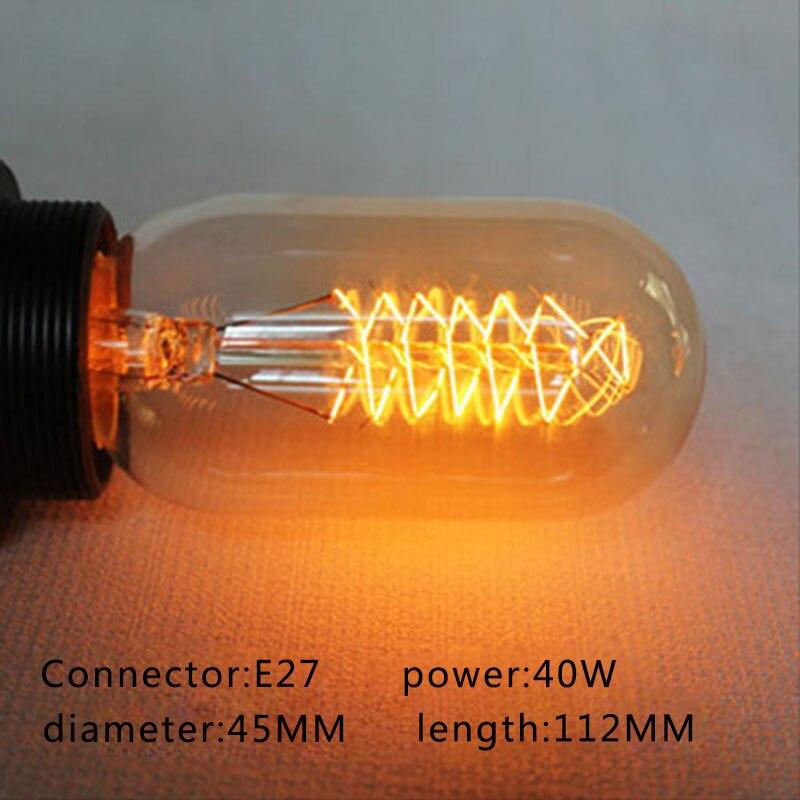 E27 pendant lamp vintage edison bulb st64 220v Incandescent light bulb led 40w bulbs decorative filament bulb lighting bombilla