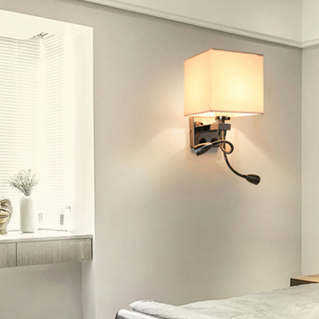 Sconce Modern Bed Wall Lights Led Reading Lamp Wall Lamp