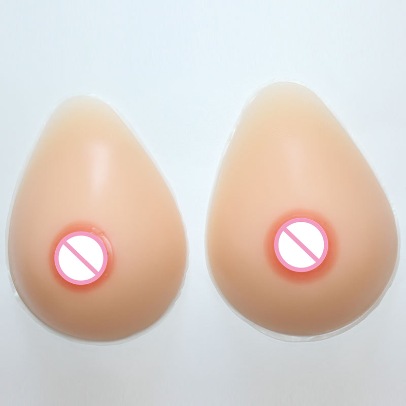 700g/Pair C/D Cup Fake Silicone Breastforms for Crossdress Makeup Breast Enlargement Transgender Natural Breast Enlancement