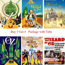 The Wizard of OZ Posters Cartoon Wall Stickers Livingroom Kids Room Decoration