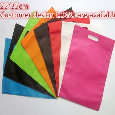25*35cm 20 pcs/lot recycling custom bag gift packaging bags women shopping bags Pakistan