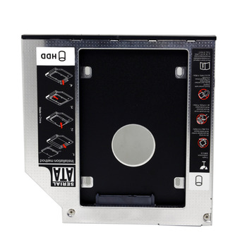 CY SATA 22pin HDD HD Hard Disk Drive Caddy Case for 12.7mm Universal Laptop CD / DVD-ROM Optical Bay цена 2017