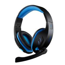 SY-968 Computer Stereo Gaming Headphones Deep Bass with Microphone USB Plug for pc