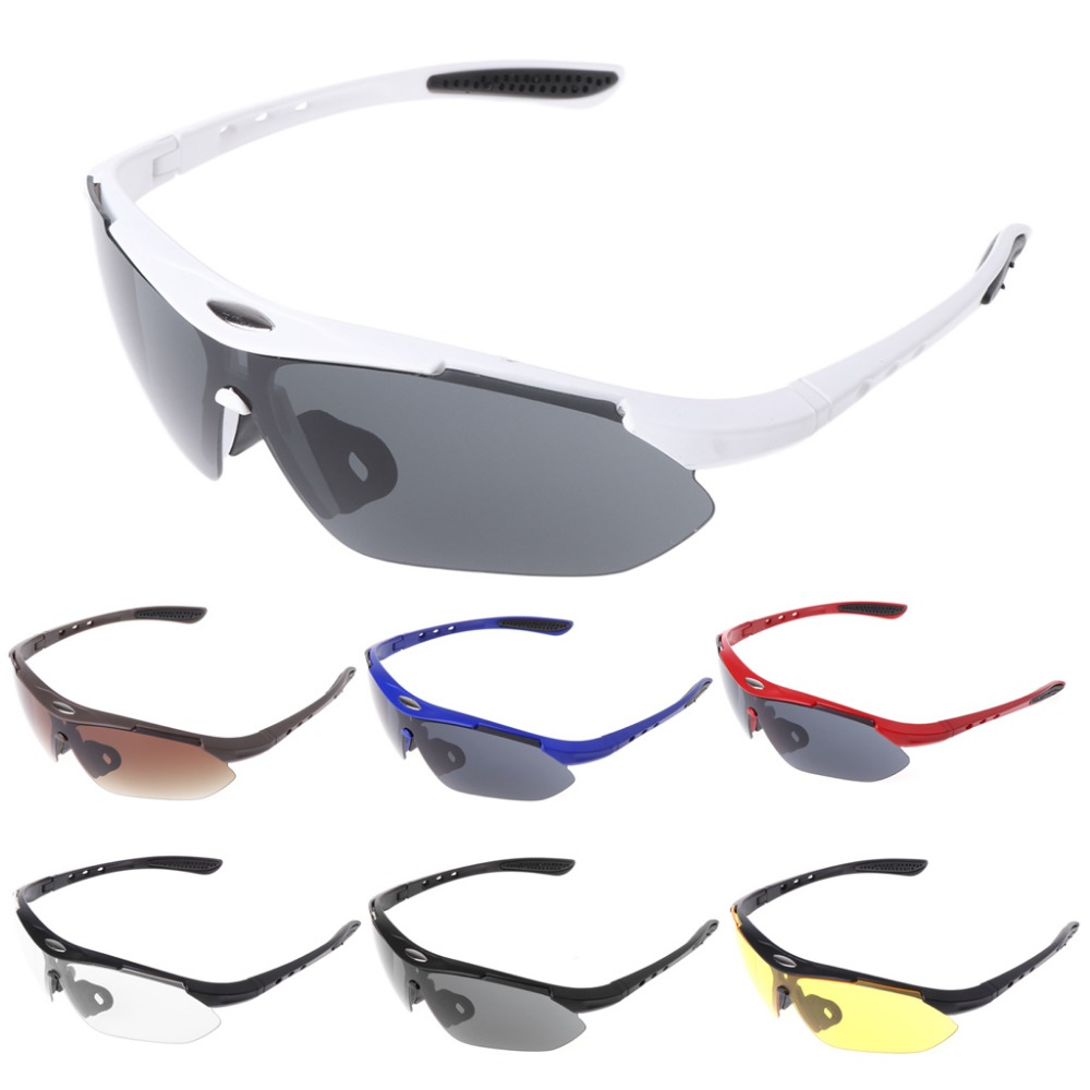 Outdoors Sports Cycling Bicycle Bike Riding Mens SunGlasses Eyewear Women Goggles Glasses Whosale&Dropship