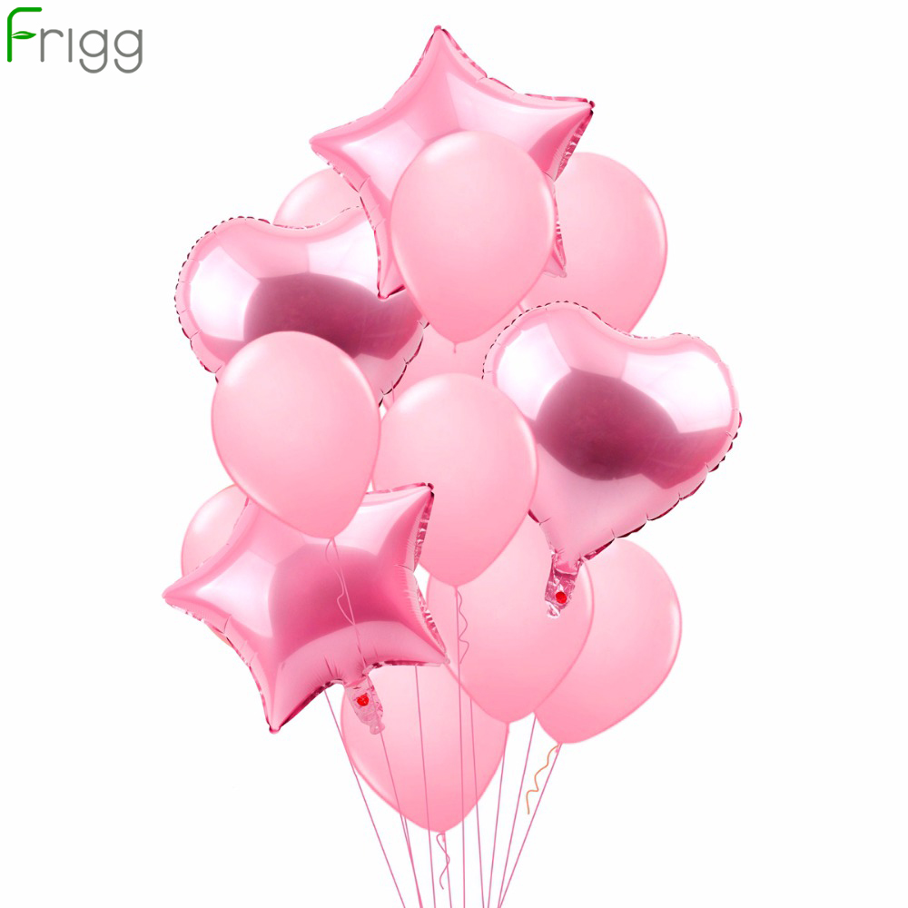 Happy Birthday Balloons Party Decoration Confetti Latex Balloon Air Transparent Number Balloon Figures Love Baloon Foil Ballon in Ballons Accessories from Home Garden