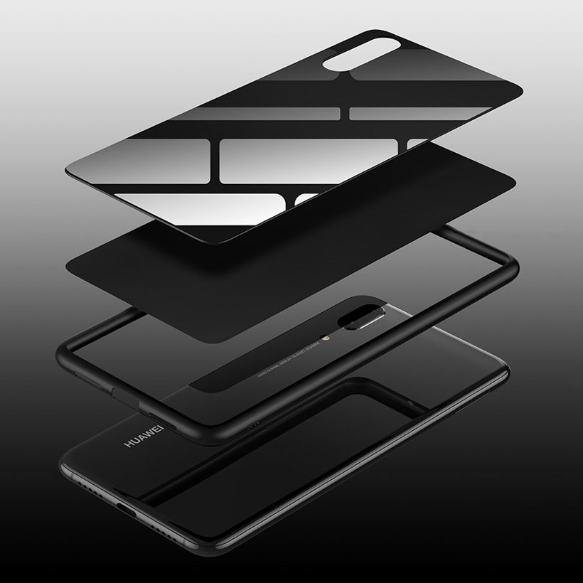 Mirror Phone Case For Huawei P20 Lite Case iPhone 7 6S 8 Plus X XR XS Max Note 8 9 S8 S9 R15 R9S R11 X21 Pro Oppo Find X Cases in Fitted Cases from Cellphones Telecommunications
