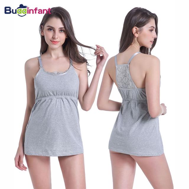 78ecad806b6cf Pregnancy Women Nursing Clothing Maternity Breastfeeding Underwear Lace  Camis Sleepwear Lady Pregnant Pajama Tank Tops Clothes