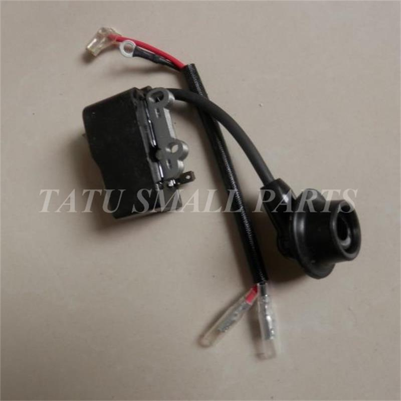 IGNITION COIL FOR ZENOAH G20LH EHT603 753S TOPSUN GJB25 GJB700 21.7CC HEDGETRIMMER IGNITOR IGNITER STATOR BRUSHCUTTER MAGNETO p351 ignition coil for partner 351 350 370 371 390 420 440 poulan stator chainsaw magneto ignitor
