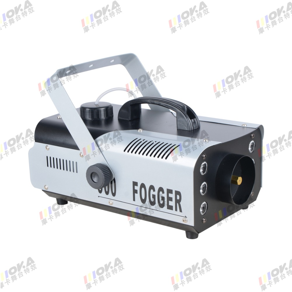 900w Electric Smoke Machine, 6*3w led DJ effect fog machine ,stage dj party ktv fog effects mot irf230 to 3