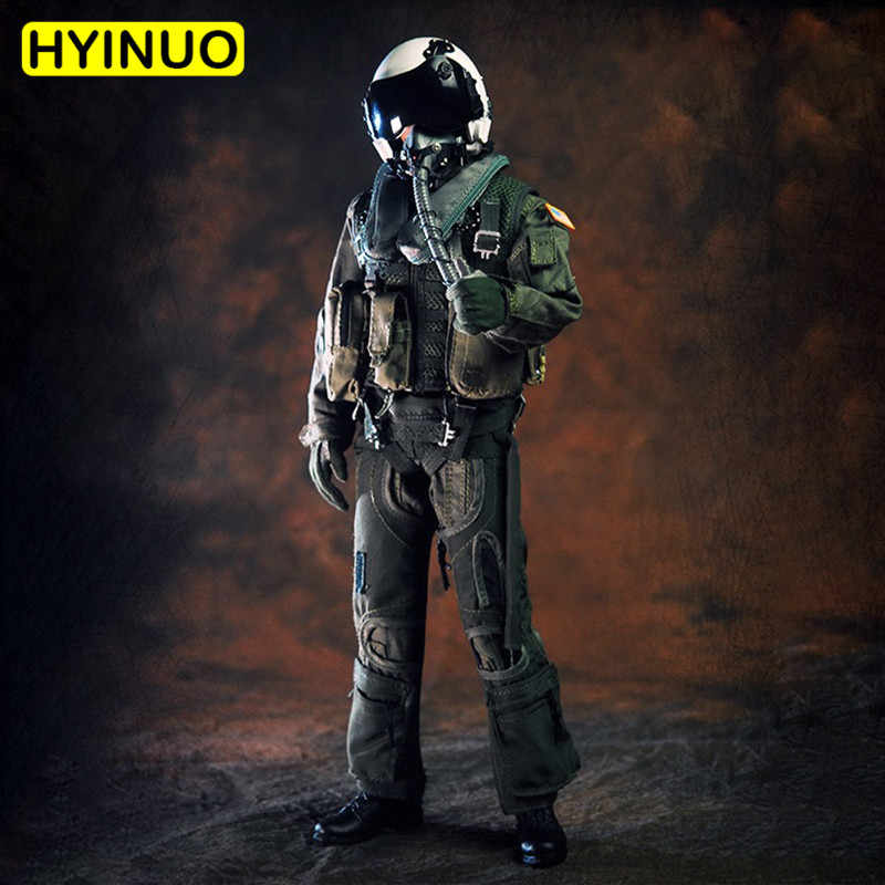 """1/6 Escala VH1049 Homens Piloto 101st Forças Especiais de Combate Esquadrão de Ataque Masculino Conjunto de Roupas Roupas de F 12 """"Figura de Ação corpo masculino"""