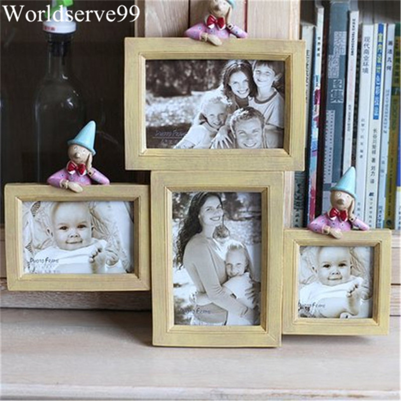 2016 Multi Frame Resin Baby Picture Frames Home Decor Photo Frames ...