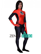 Free Shipping DHL 2017 Adult Sexy Women's Red Lanterns Costume Superhero Costume Halloween Costumes Fancy Dress 16061602