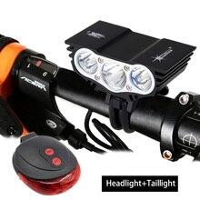 SolarStorm 6000Lm LED Bike Flashlight 3x XM-L L2 Cycling Bicycle Lantern Light Torch Accessories For Bicycle 6400mAh Battery цена 2017