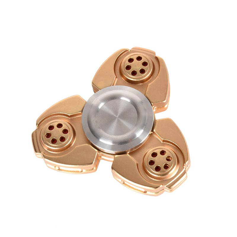 Aluminous Hand Spinner For Autism and ADHD Finger Spinner Children Adult Toys Gift With Box fidget