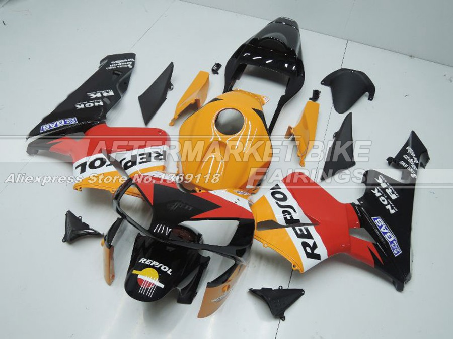 Для Honda CBR600RR 2003 Repsol спортивный велосипед обтекателя Kit 2004 с бесплатным ветрового стекла