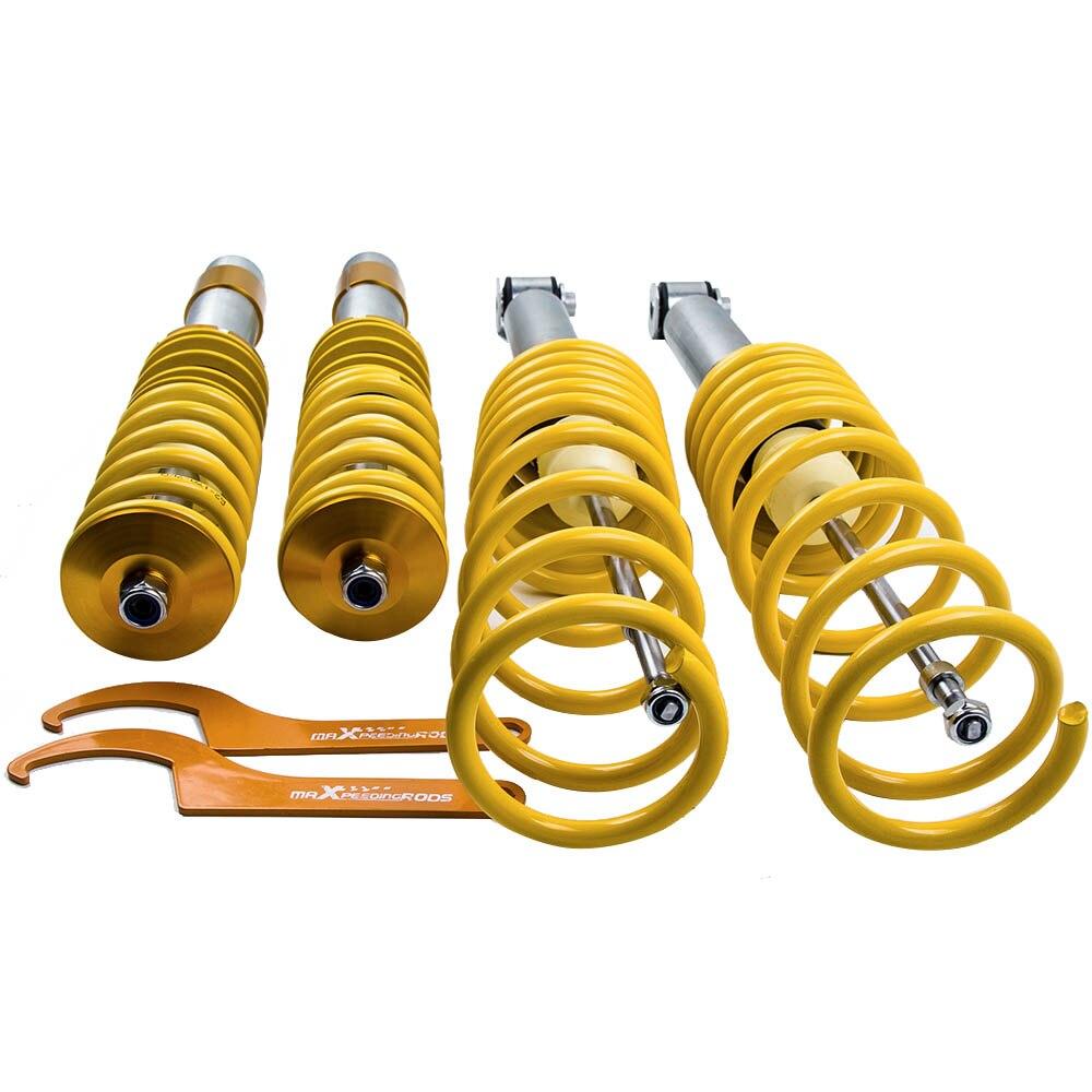 Para BMW E39 5 Série 535 540 Suspensões Coilover Absorvedor de Choque Strut 518i 520i 523i 528i Amortecedores de Choque Ajustável