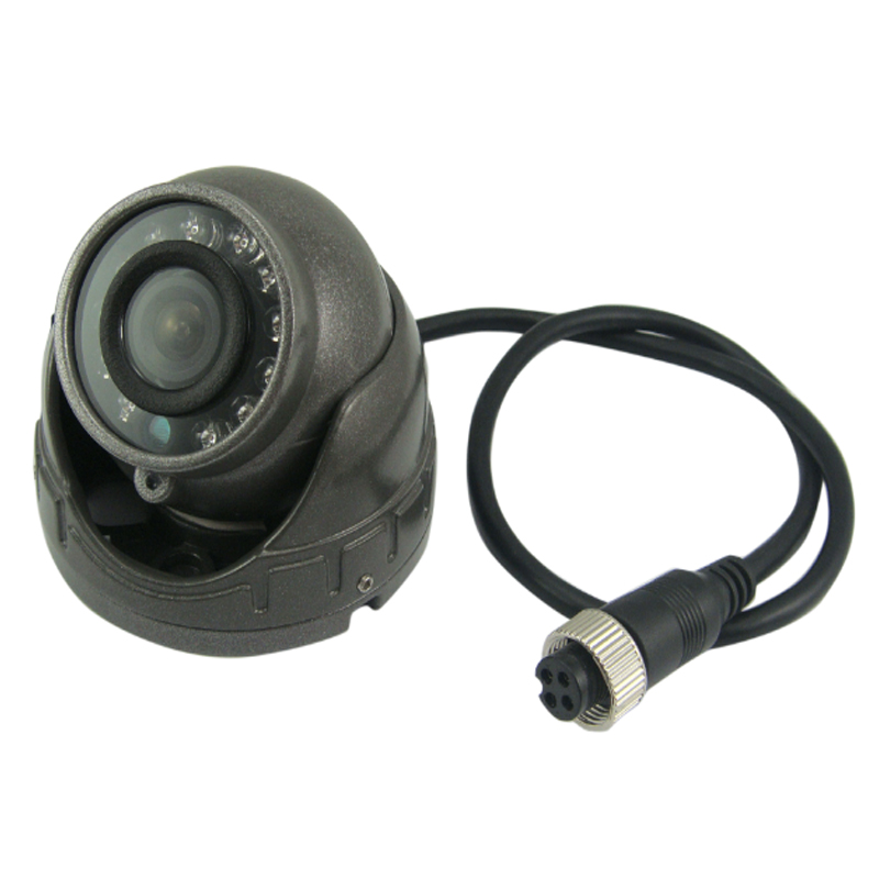 G7203 Night Vision AHD Vehicle Indoor Dome Camera for X7 Mobile HDD DVR with Aviation Connector & Audio Input Optional