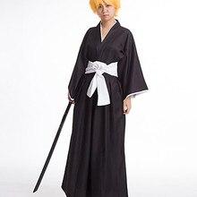 Bleach Ichigo Kurosaki Black Cosplay Costume