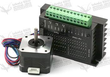 NEMA23 DIY CNC milling machine 3D printer Nema17 Stepper Motor 42BYG34 1.5A Drive TB6600 motor 2dm442 2 phase nema23 nema17 stepper motor driver dc24 48v 1 0 4 2a jmc