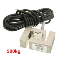 1PC New Arrival S Type Alloy Steel Weighting Sensor 500kg Beam Load Cell Scale 2 95