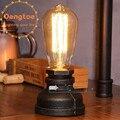 Dengtoe настольные лампы для столовой  антикварные черные светильники  кухонный остров  Офисная лампа  домашнее украшение  водопроводная лампа