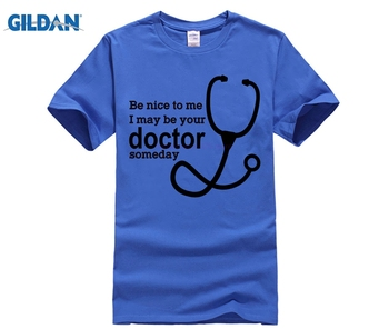 100% cotton O-neck printed T-shirt Funny Medical Student Shirt