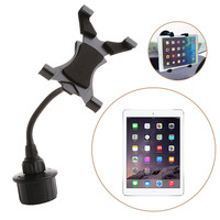 1Pc Adjustable Bendy Car Cup Holder Mount For Apple IPad Kindle Fire Galaxy Tablet C45