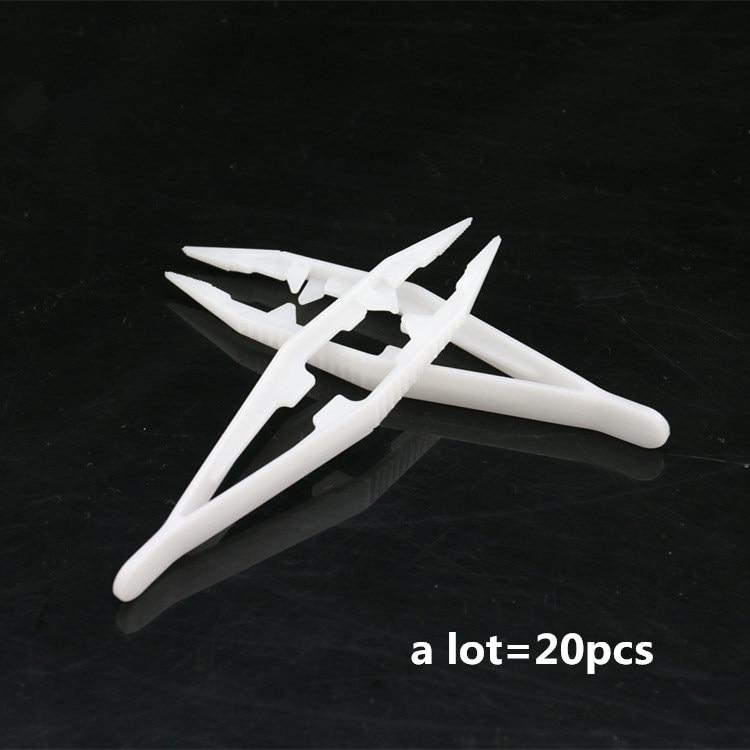 In 20 Stück Pinzette Für 5mm 2,6mm Hama Perler Perlen Werkzeug Diy Kinder Handwerk Kunststoff Clips Kinder Sicherung Wulst Werkzeuge Freies Verschiffen Modischer Stil;